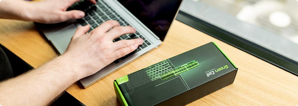 batteria per un portatile
